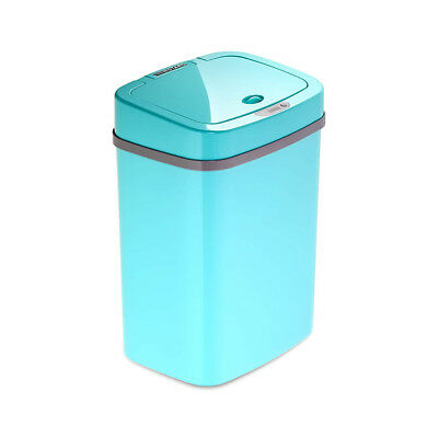 Ninestars Automatic Touchless Infrared Motion Sensor 3 Gallon 12L Blue Trash Can