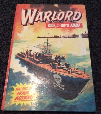 Warlord Book for Boys 1981 (Annual), , I clipped. The Best Of War Action