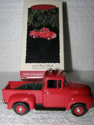 Hallmark Keepsake Christmas Ornament 1956 Ford Truch New Collector's Series 1995