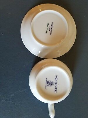 northwest airlines collectable cup and saucer