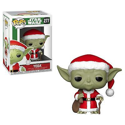 Funko Pop! Star Wars: Santa YODA Christmas Holiday Special #277