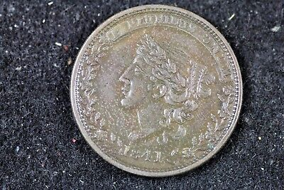 1841 - Millions For Defense Not One Cent Tribute Hard Times Token HT-58! #H17748