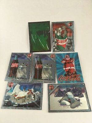 1995 Coca Cola Polar Bear and Coke Bottle Hologram from Collect-A-Card Plus More