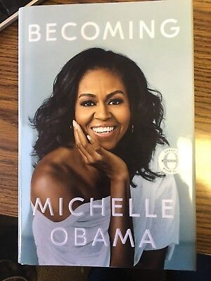 Becoming by Michelle Obama (Hardcover Book)