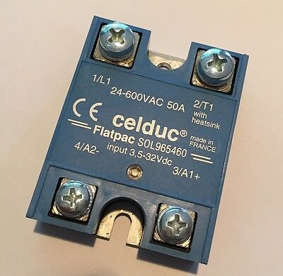 Celduc SOL965460 Solid State Relay 24-600VAC 50 A
