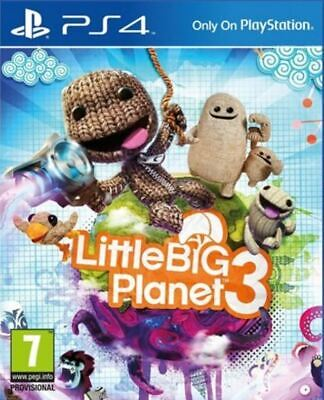 Little Big Planet 3 PS4 Game NEW UK PAL for Sony Playstation 4 NOT HITS version