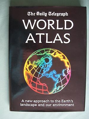 The Daily Telegraph World Atlas ISBN 0863672418 Hardback very good condition