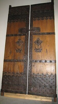 Ancient Antique Chinese Northern Elm Doors