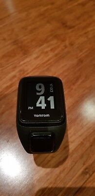 TomTom Spark Cardio GPS fitness Watch - Black (Large Band)