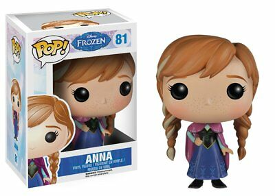 Anna Funko Pop #81 Disney's Frozen Vaulted Collectible Elsa Sister Toy Figure