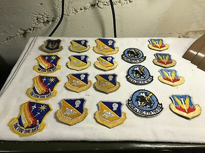 1980's USAF Capt. Dave Swanson F-111 Pilot (29) Different Air Force PATCHES!!