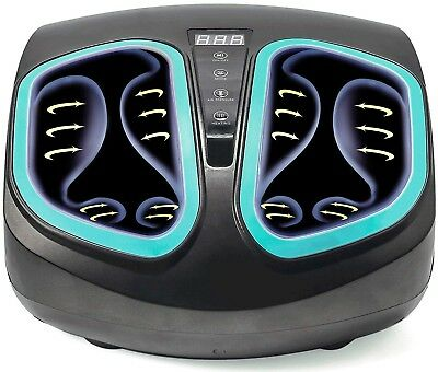 Shiatsu Foot Massager Machine-Electric Deep Kneading with Heat & Air Compression