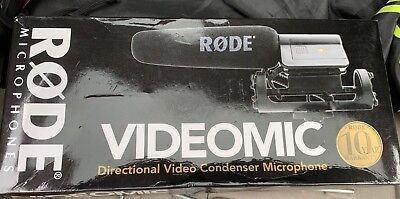 Rode VideoMic Directional Video Condenser Microphone W/ Shoe Style Shock