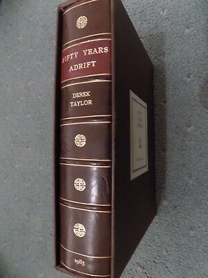 George Harrison/Beatles Fifty Years Adrift Genesis Publications Edition Book