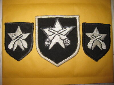 Original Vintage Rare Ww2 Wwii Military Patch Lot