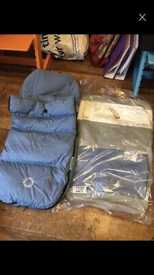 Bugaboo Ice Blue Universal High Performance Footmuff - Great Condition