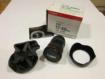 Canon EF 17-40mm F/4.0 L USM Lens in Excellent condition Free Special Delivery