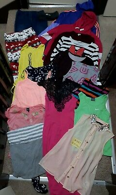 Massive Bundle Of Girls Clothes 12-13-14years #497 NEW LOOK ADIDAS NIKE GAP...