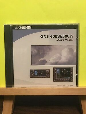 Brand New Sealed ~ GARMIN GNS 400W/500W Series Trainer (2006, CD) Version 2.00