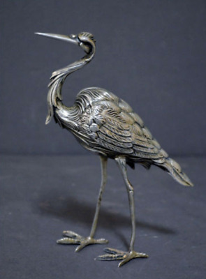spanish sterling silver heron marked
