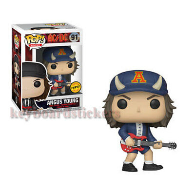 Funko POP! Rocks AC/DC - Angus Young #91 CHASE Vinyl Figure  -  Pre-Order
