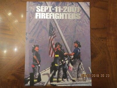 Sept-11-2001 Firefighters Book