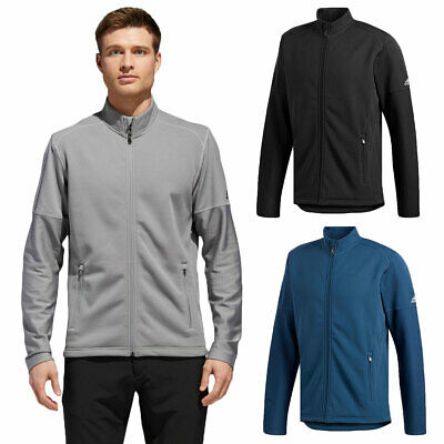 adidas Golf Mens Climawarm Full Zip Warm Stretch Jacket Top 47% OFF RRP