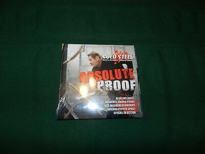 Cold Steel Absolute Proof DVD by Cold Steel & Smoky Mountain Knifeworks MIB