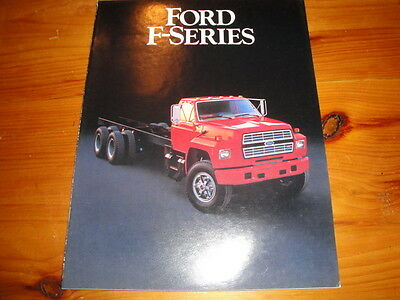Ford F-Series Truck Advertising Brochure