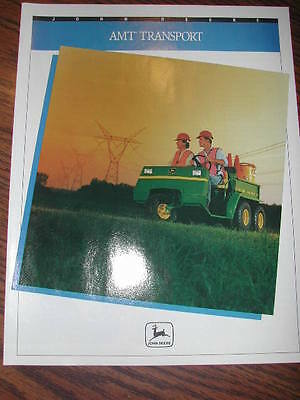 John Deere AMT Transport Advertising Brochure
