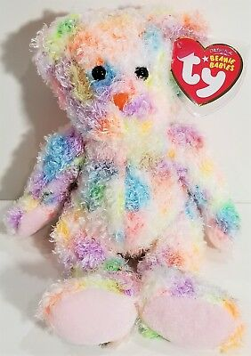 "TY Beanie Babies ""POOLSIDE"" Ty Store Exclusive Teddy Bear - MWMTs! PERFECT GIFT!"