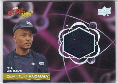 T.I. Dave 2018 Upper Deck Ant-Man and Wasp Quantum Anomaly Relic #QM5
