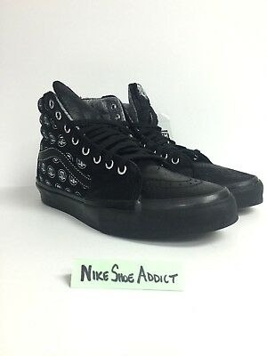 0454cef27e Vans SK8-Hi LX Highs and Lows VN000KXIJIJ Black Black Unisex Vault New