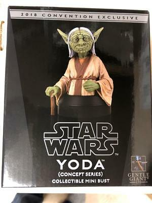 Star Wars Gentle Giant YODA Conc McQuarrie Exclusive Mini Bust NEW sealed