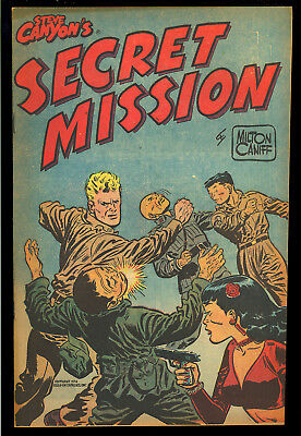 Steve Canyon's Secret Mission #nn Harvey File Copy Giveaway Comic 1951 VF