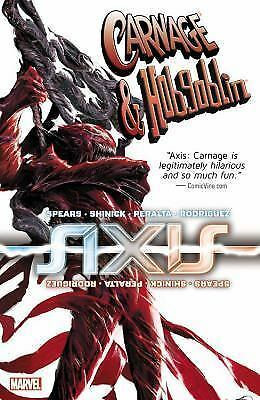 Axis : Carnage and Hobgoblin by Kevin Shinick (2015, Paperback) NEW FREE S/H