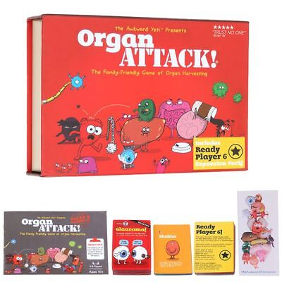 Organ ATTACK Funny Gathering Card Game The Family Game of Organ Harvesting