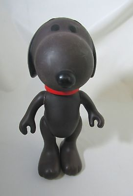 "Vintage Brown Snoopy Figure 1958, 1966 United Feature Syndicate 8.5"" KTE"