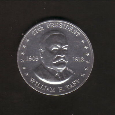 William H Taft--1968 Shell Presidential Coin