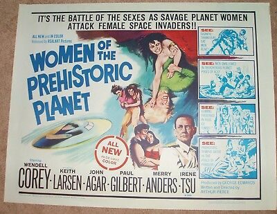 WOMEN of the PREHISTORIC PLANET 1966 realart pictures         sci-fi