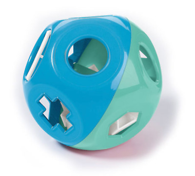New Tupperware Shape O Ball Sorter Learning Toy blue and green