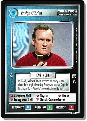 Star Trek Ccg Twt Trouble With Tribbles Ensign o ' Brien 59r