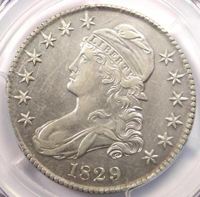 1829 Capped Bust Half Dollar 50C O-116 - PCGS AU Details - Rare Certified Coin!