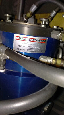 Thermal Technologies Model 1000-4560-FP20 Graphite Vacuum Furnace