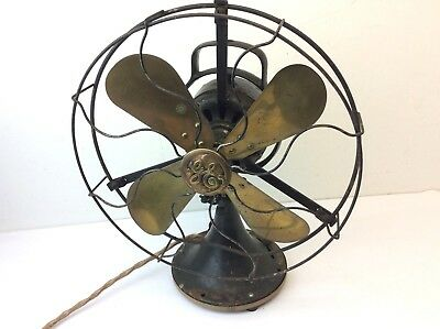 Antique Brass Blade Cast Iron Type 100 K120857 GE General Electric Fan Parts