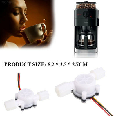 4A02 Water Control Coffee Adjust Water Flow Sensor Durable White 0.3-6l/Min
