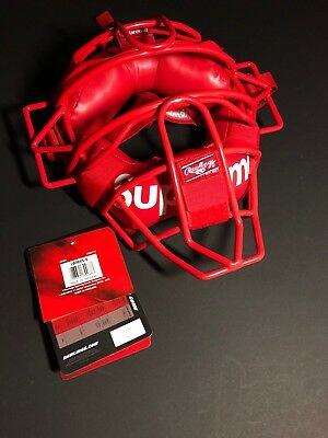Supreme/Rawlings Catcher's Mask. 100% authentic.