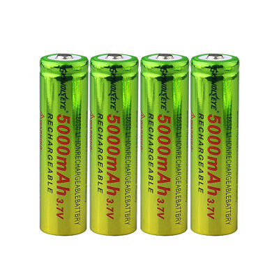 Rechargeable Batteries 14500 16340 18650 3.7V 1500~5800mAh For Flashlight Remote