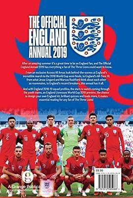 Official England FA Annual 2019 by Grange Communications New Hardback Book