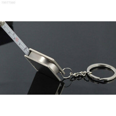 E4FB Keychain Metal Tape Measure Compact Portable Gift Decoration Accessory